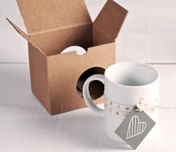 Boîtes cadeau pour des tasses