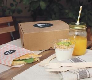 Kit de boîte et contenants pour petits déjeuners