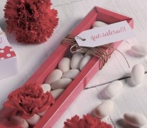 Boîte à bonbons allongée