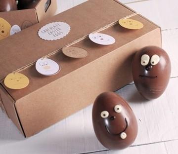 Boîte automontable pour Pâques