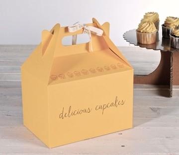 Boîte pique-nique jaune