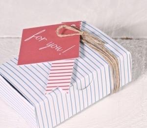 Boîte à Cartes de Visite Imprimée