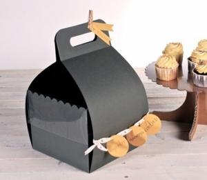 Boîte à gâteaux avec anse