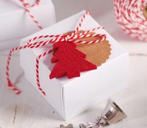 Boîte à bijoux pour cadeau de Noël