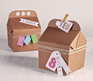 Petite boîte pour fêtes d'enfants