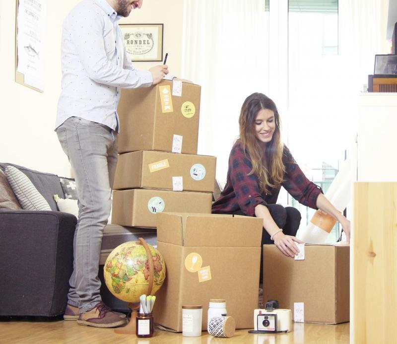 kit 12 cartons de d m nagement selfpackaging. Black Bedroom Furniture Sets. Home Design Ideas