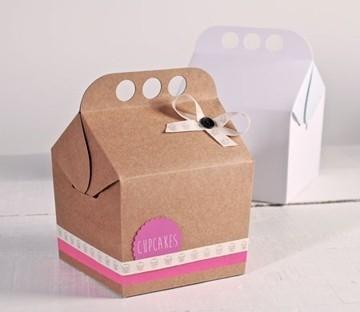 Boîte automontable avec anse