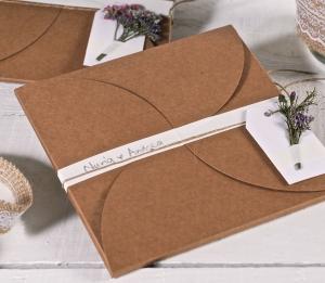 Boîte d'invitation pour mariage