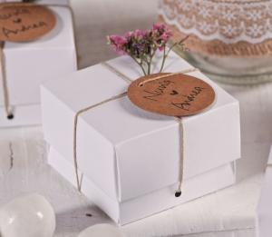 Boîte blanche pour mariages