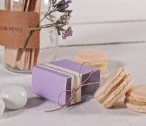 Boîte pour macaron individuel