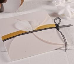 Boîte à invitations de mariage