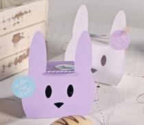 Petite boîte cadeau en forme de lapin