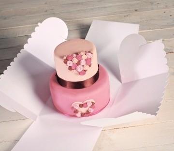Boîte à Gâteau Décorée