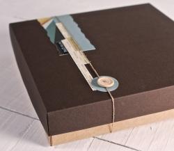 Boîte personnalisée pour albums photo
