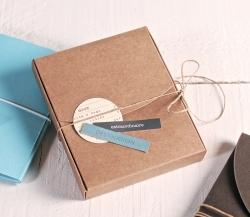 Boîte photo décorée pour Polaroïd