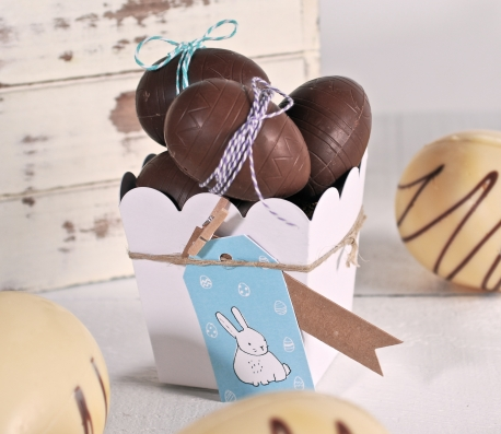 Cajita para huevos de Pascua