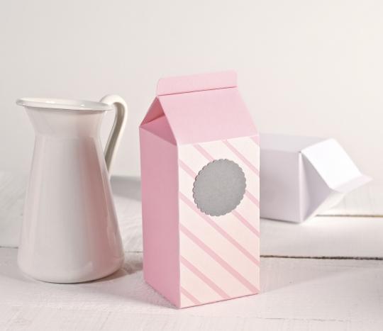 Caja regalo tetrabrik decorada