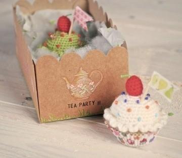 Boîte à Cupcakes en Crochet