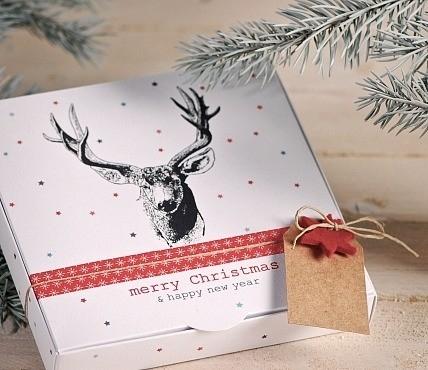 5 Boîtes Cadeau et décoration de Noël 2210_M