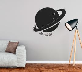 Vinyle décoratif planète