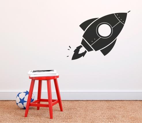 Vinyle de fusée pour les enfants