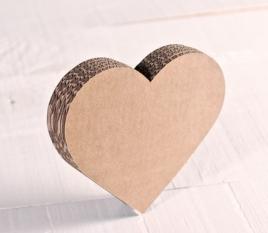 Petit Coeur en Carton