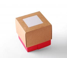 Boîte carton triple bac