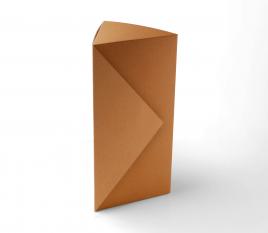 Boîte triangulaire bouteille