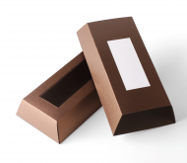 Boîte carton pour chocolat rectangulaire