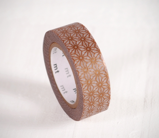 Washi tape mosaïque doré