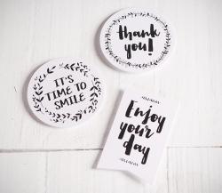 """Stickers pour cadeaux """"Happy"""""""