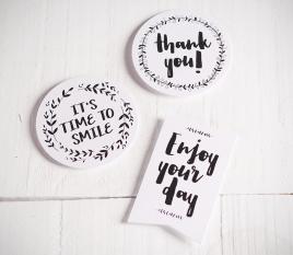Stickers pour cadeaux