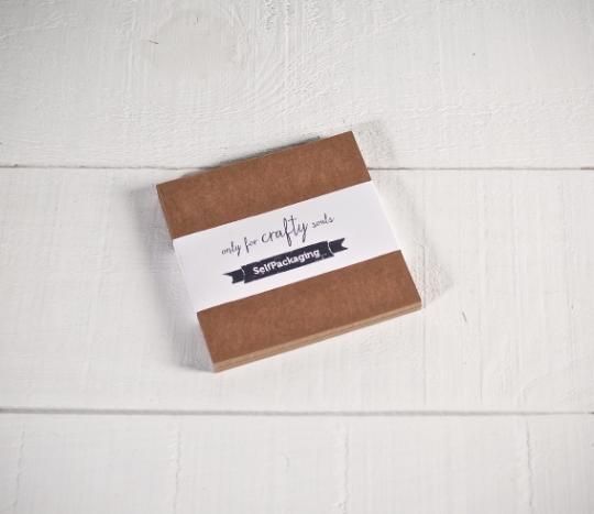 Papier cartonné kraft 12x12cm
