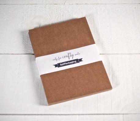 Papier cartonné kraft A5