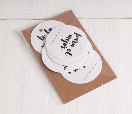 Kit de etiquetas navideñas personalizables