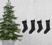 Vinyl de Noël vinyl avec motif chaussettes