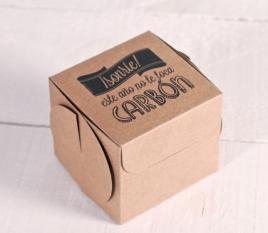 Boîte imprimée pour Noël