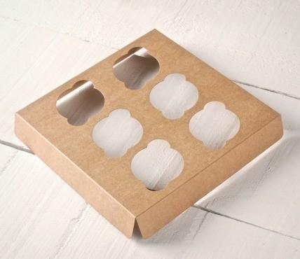 Porteur 6 Mini Cupcakes