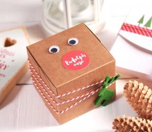 Boîte Renne de Noël