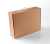 Boîte-mallette avec poignée carton