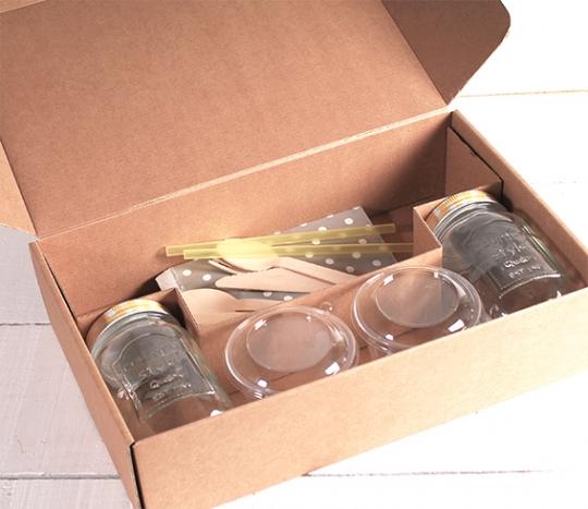 Kit de boîte pour 2 petits déjeuners
