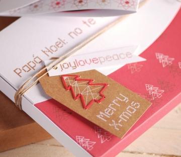 Cajas para fotos con impresión Navideña