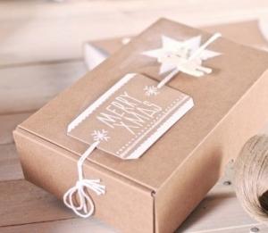 Boîtes automontables décorées
