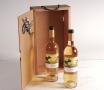 Boîte de Noël pour offrir des bouteilles