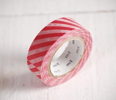 Washi tape à rayures épaisses