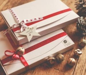 Boîtes pour des chèques cadeau