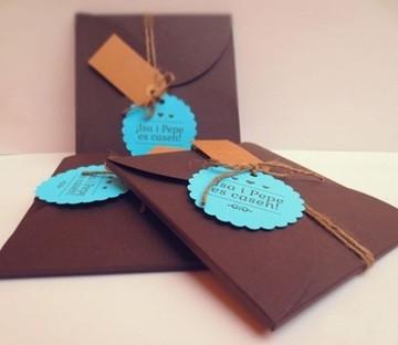 Invitations de mariage handmade