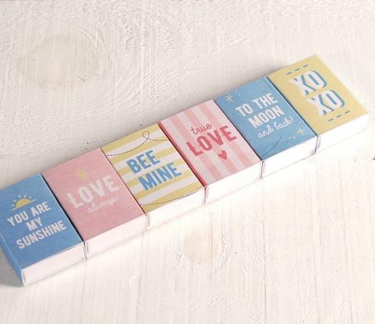 Kit de Cajas con mensajes