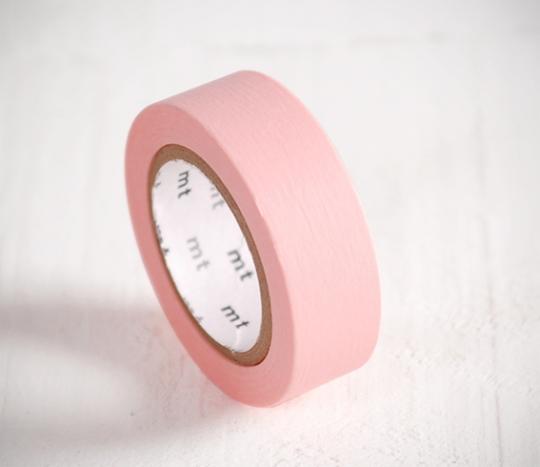 Washi tape rose pâle