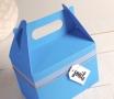 Boîte pique-nique à carreaux